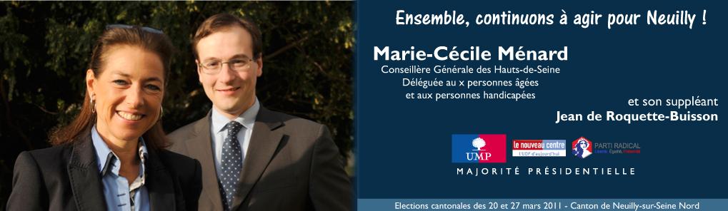 Marie-Cécile Ménard 2011
